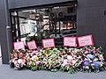 HK 上環 Sheung Wan 差館上街 Upper Station Street 太平山街 Tai Ping Shan Street 太康樓 Tai Hong House shop CRIT Room Italian style restaurant Opening flowers signs October 2019 SSG 01.jpg