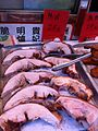 HK Aberdeen 東勝道 Tung Sing Road 得記燒臘飯店 Tak Kee Rice Restaurant Nov-2012 BBQ pork meat.JPG