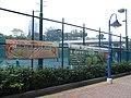 HK Aberdeen Tennis and Squash Centre court banners street lamps Oct-2012.JPG