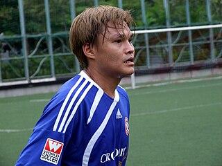 Au Wai Lun Hong Kong footballer