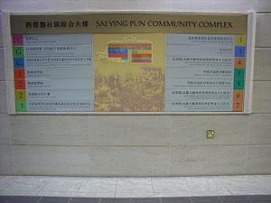 Sai Ying Pun Community Complex - Image: HK High Street SYP Community Complex uses