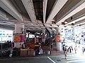 HK Tram tour view Causeway Bay 軒尼詩道 Hennessy Road 堅拿道行車天橋 Canal Road East flyover Bridge August 2018 SSG 03.jpg