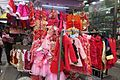 HK WC 灣仔街市 Wan Chai Market 太原街 Tai Yuen Street red clothing children Jan 2017 IX1.jpg