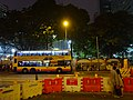 HK Wan Chai night Johnston Road Tram Southorn Playground Dec-2015 DSC.JPG