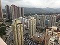 HK Yuen Long 順豐大廈 Shun Fung Building view 好順意大廈 Ho Shun Yee Building 鳳攸東街 Fung Yau Street East 年發大廈 Lin Fat Building Yoho Town.JPG