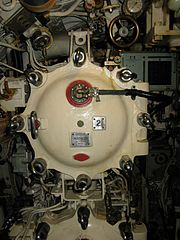 HMS Alliance torpedo tube