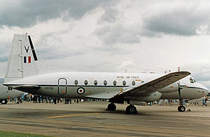 Hawker Siddeley Andover - Andover CC.2 of 60 Squadron RAF in 1987