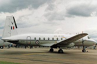 Hawker Siddeley Andover - Andover CC.2 of 60 Squadron RAF in 1987