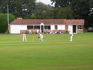 Hadlow Cricket Club - The pavilion.