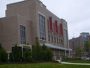 Hagan Arena - Hagan Arena, exterior