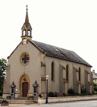 Hagen, Moselle - The church in Hagen