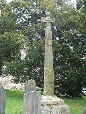 St Wilfrid's Church, Halton-on-Lune - Anglo Saxon high cross