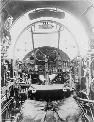 Handley Page Hampden - The Hampden's cockpit