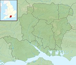 Twyford Down is located in Hampshire