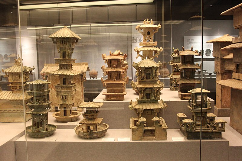 File:Han Pottery Tower Collection.jpg