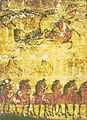 Han Tomb Mural, Horses and Carts.jpg