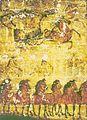 Han Tomb Mural, Horses and Carts.jpg