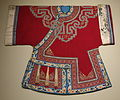 Han Woman's Semi-Formal Coat, China, 1880-1889, silk - Cincinnati Art Museum - DSC03147.JPG