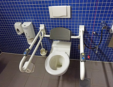 Terrific Accessible Toilet Wikiwand Frankydiablos Diy Chair Ideas Frankydiabloscom