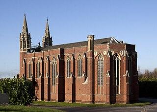 Mortuary Chapel, Handsworth Cemetery Church in Birmingham, England