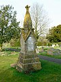Hanks family tomb, Brinkworth cemetery - geograph.org.uk - 1209825.jpg