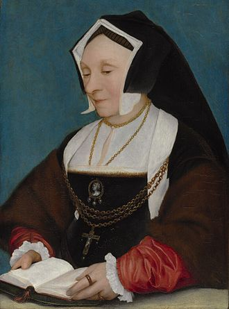 Alice More - Portrait of Alice More by Hans Holbein