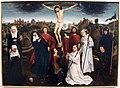 Hans memling (da), crocifissione con santi e donatori, ve.JPG