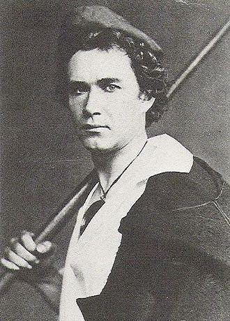 The Snowman (fairy tale) - Scharff as Gennaro in Bournonville's ballet Napoli, 1860