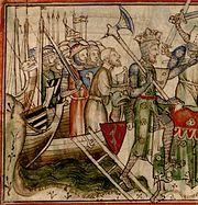Harald landing in York 01