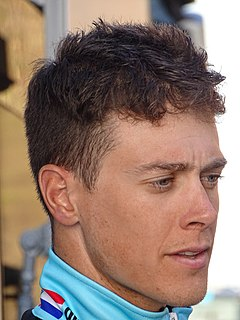 Niki Terpstra Racing cyclist