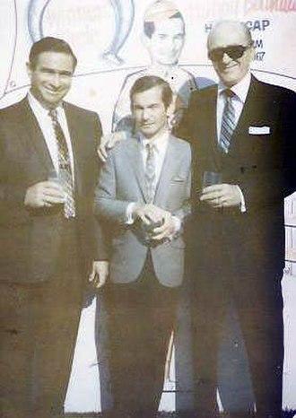 Camilo Marin - Agent Harry Silbert, Bill Shoemaker, and Marin, Chicago, 1967