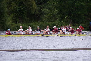 Harvard Rowing Crew at Henley 2004