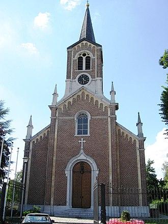 Godsheide - The parish church of Godsheide.