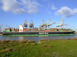 Hatsu Crystal p7, at the Amazone harbour, Port of Rotterdam, Holland 25-Jan-2007.jpg
