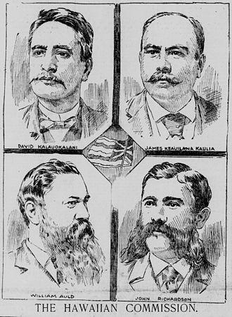 Opposition to the overthrow of the Kingdom of Hawaii - Native Hawaiian Delegates to Washington, DC, 1897