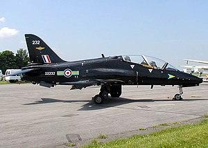 No. 208 Squadron RAF - BAe Hawk of No. 208 Squadron