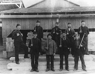 Hawkesbury, Ontario - Image: Hawksbury 1895