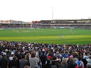 York Park stadium in Launceston, Tasmania, Australia