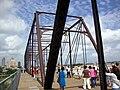 Hays Street Bridge with pedestrians.JPG