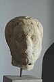 Head of a man, marble, late Roman Age, AM Naxos, MN 8923, 110105.jpg
