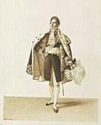 Chamber of Peers (France) - Image: Heim Sacre de Charles X, un pair de France