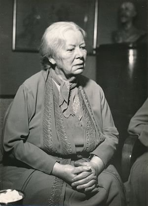 Helga Ancher - Helga Ancher in the 1960s.