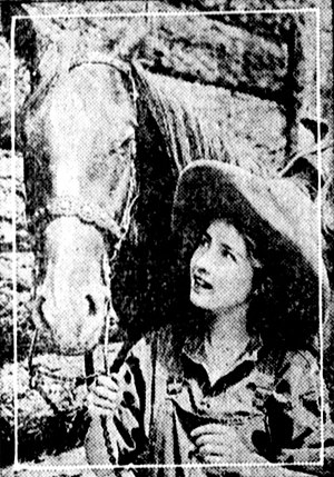 Hell-to-Pay Austin - Bessie Love from a scene from the movie.