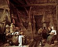 Hendrik Maertensz Sorgh - Gezicht in een boerendeel - 2174 (OK) - Museum Boijmans Van Beuningen.jpg