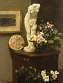Henri Fantin-Latour - Flores e Objectos Diversos, 1874.jpg