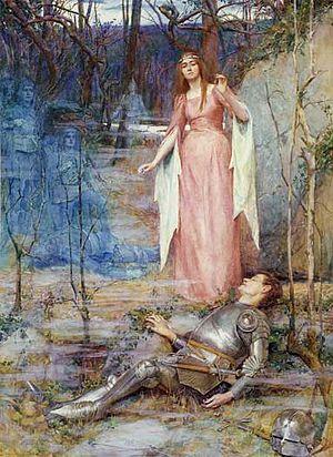 La Belle Dame sans Merci - La Belle Dame sans Merci by Henry Meynell Rheam, 1901