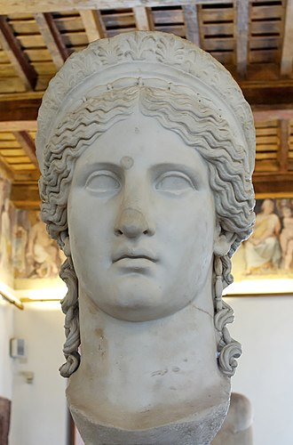 Nero Claudius Drusus - The Juno Ludovisi, a 1st-century CE depiction of Drusus' wife Antonia Minor as Juno