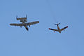 Heritage Flight A-10C F-86F last pass 11 TICO 13March2010 (14413037567).jpg
