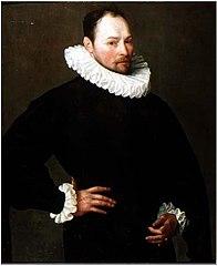 Portrait of a man aged 33