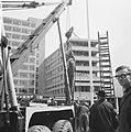 Het verzetsmonument genaamd Ongebroken Verzet, wordt aan de Westersingel te Rott, Bestanddeelnr 917-7062.jpg